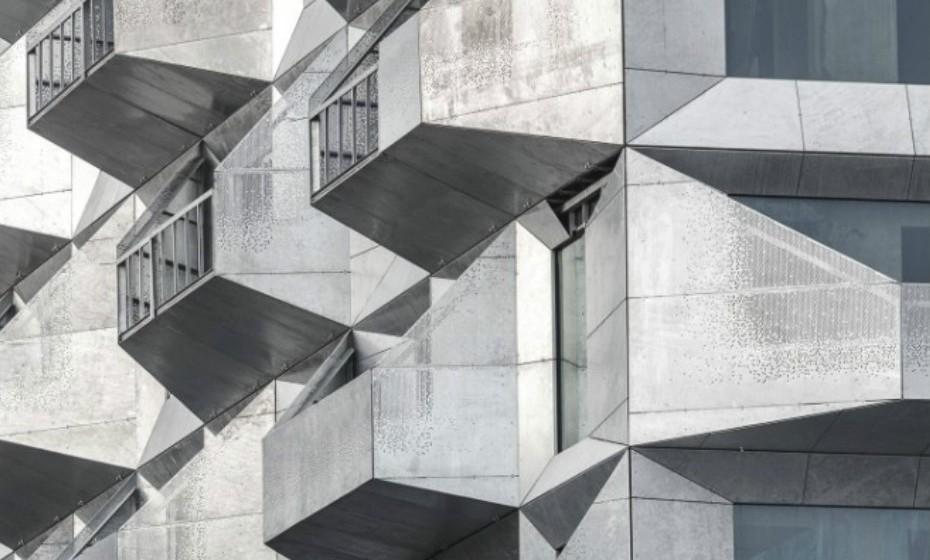 The Shilo, Copenhaga, é um projeto dinamarquês da firma COBE. Com apenas um armazém preparam-se para elevar a fasquia da arquitetura do país e modernizar industrialmente o local.