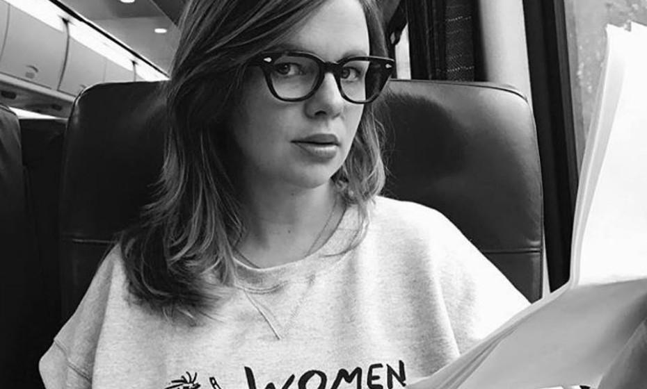 Amber Tamblyn está grávida pela primeira vez e é uma menina. Assume-se como feminista e já disse em entrevistas que esta realidade a faz pensar ainda mais na forma como a mulher é vista na sociedade atual.