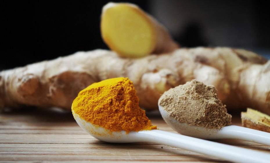 … curcuma, milho e espinafres (para a degeneração muscular e, por fim,…
