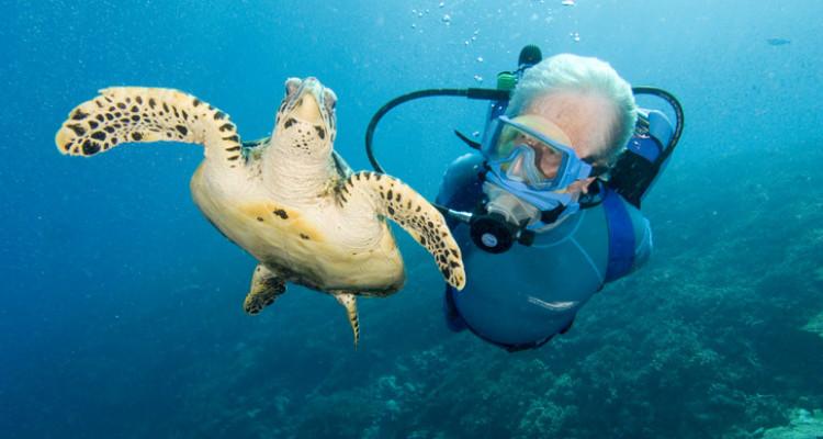 Faça um cruzeiro com o filho de Jacques Cousteau