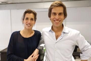 Tiago Ribeiro e Margarida Correia
