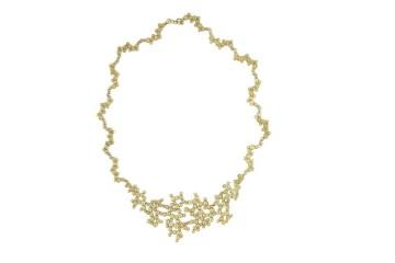 O colar vencedor: Elementos. Colar em ouro. PVP 9500,00 EUR