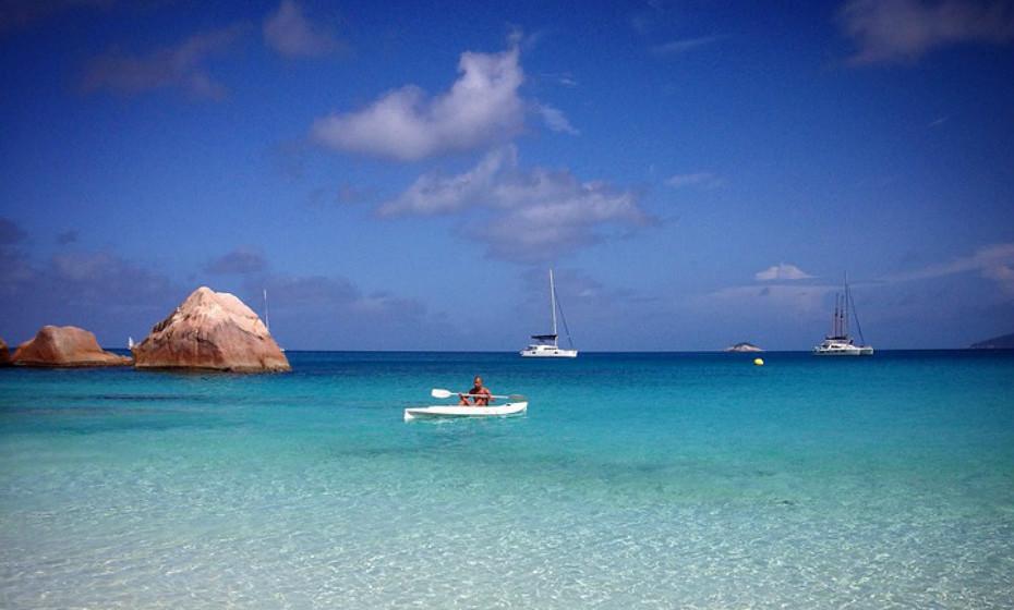 11. Praia Anse Lazio, Ilha Praslin, Seicheles