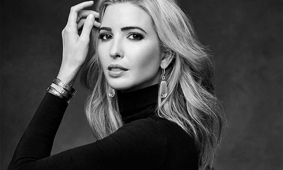 Campanha da marca de joias de Ivanka Trump.