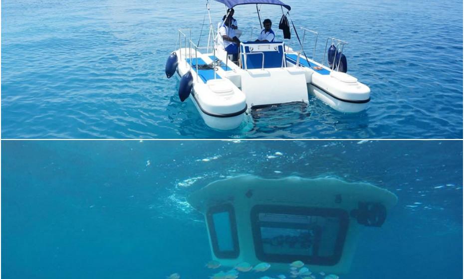 Tem rótulo de semi-submarino pois não pode ser totalmente submerso.