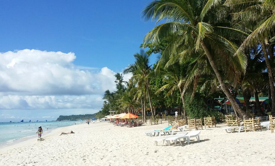 24. Praia Branca, Borocay - Filipinas