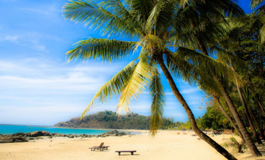 25. Praia Ngapali - Myanmar.