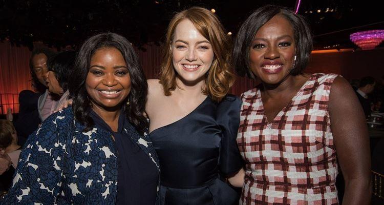 Foto (Oscars.com): As nomeadas Octavia Spencer, Emma Stone e Viola Davis