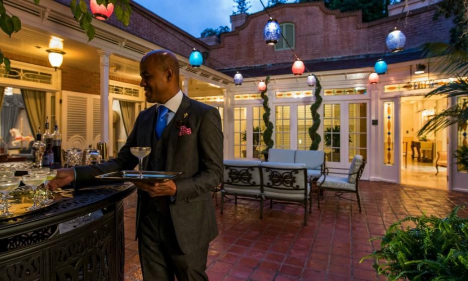 Se procura uma experiência gastronómica exclusiva pode reservar um espaço na residência privada de Walt e Lilian Disney. Imagem: '21 Royal'