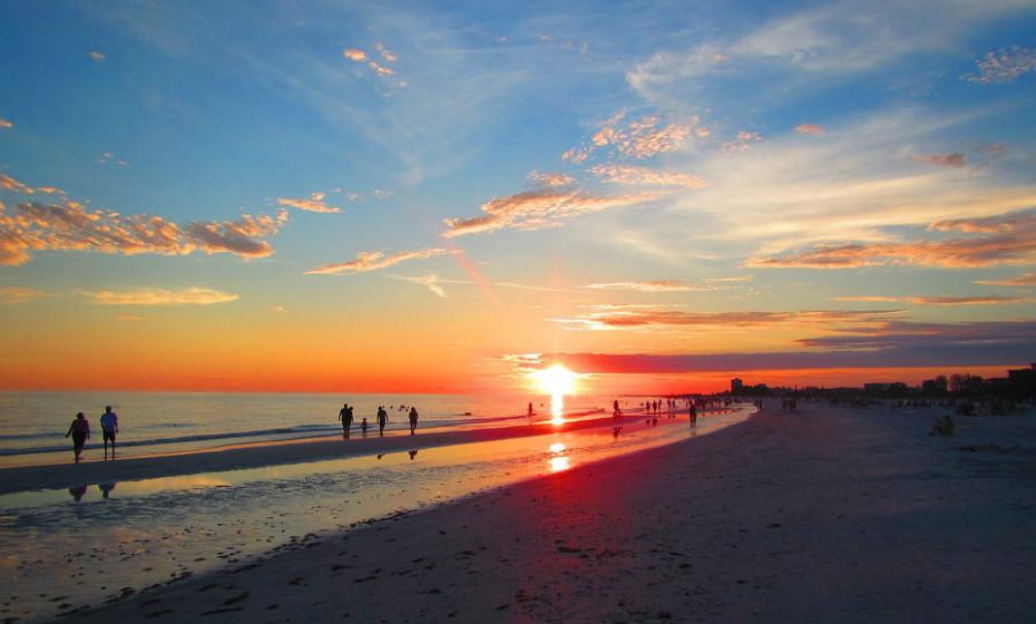 5. Praia Siesta, Florida