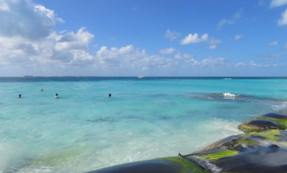 7. Praia Norte, Ilha das Mulheres - México