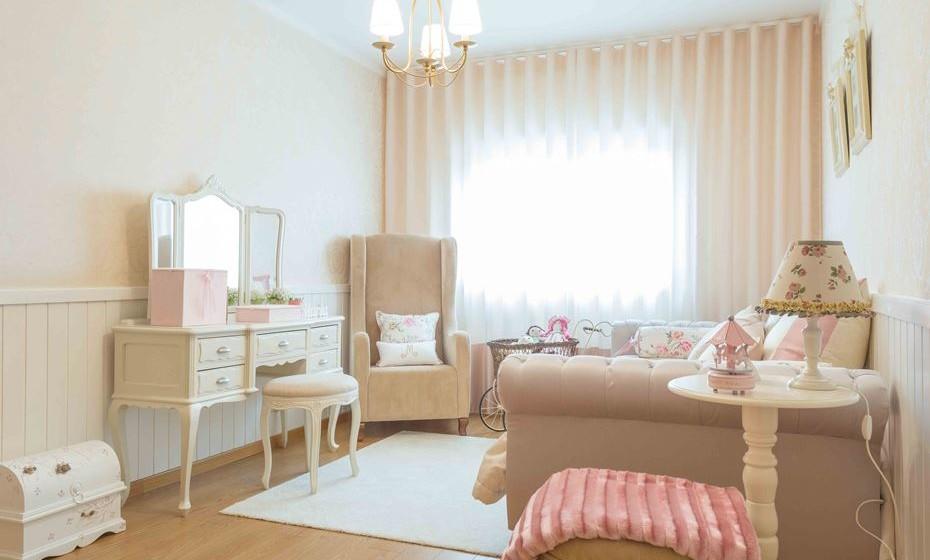 Uma visão ampla do quarto. (Fotos:  Angela Pinheiro Home Design)