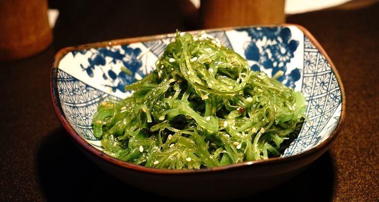 Na mesa com…as algas