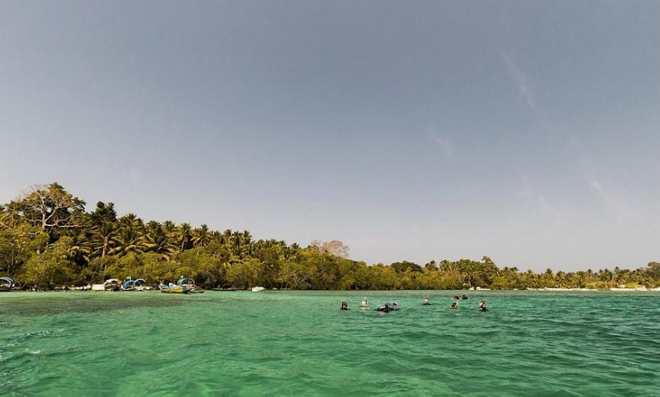 8. Praia Radhanagar, Ilha Havelock - India