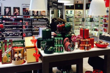 Calvin Klein e The Body Shop no Freeport Fashion Outlet