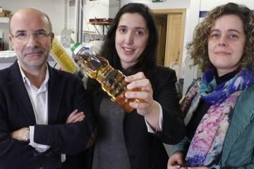 Os investigadores Manuel Coimbra, Ana Tasso Rosa e Cláudia Nunes