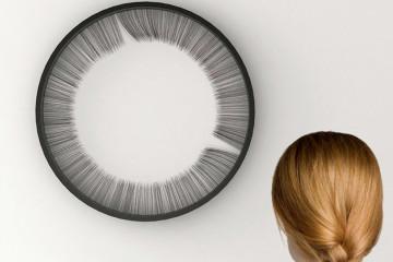 A arte moderna tende a ser, por vezes, deveras bizarra para os padrões de normalidade humana. Exemplo disso é este relógio com cabelo humano.