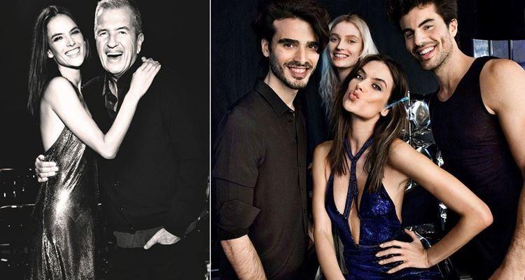 Alessandra Ambrósio vai partilhar um ano de festas deslumbrantes