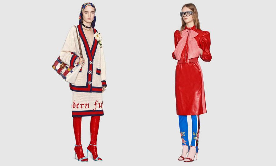 Estas são as propostas da  casa italiana. Tanto podem ser utilizadas com calças como com saias ou vestidos.