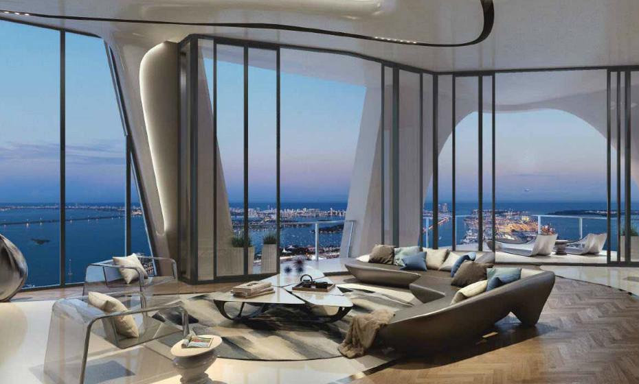 One Thousand Museum foi o primeiro projeto vencedor do Prémio Pritzker, ganho pelo arquiteto Zaha Hadid.