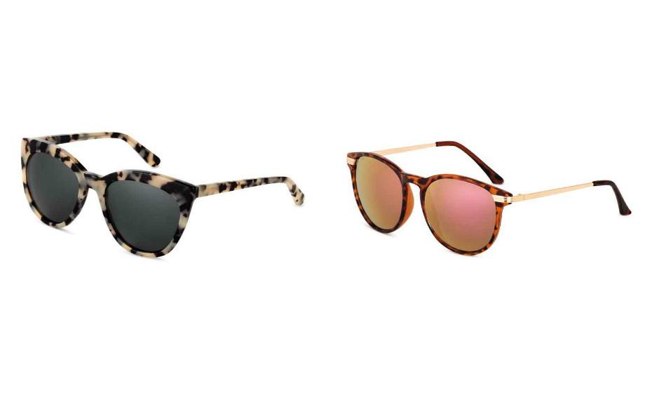Os óculos de sol são indispensáveis. Vamos arrojar com tigresse? Na imagem: H&M.