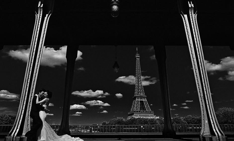 1º Lugar 'Retrato de Noivado' – inverno 2017 (Frank Boutonnet Photography – Paris, França)