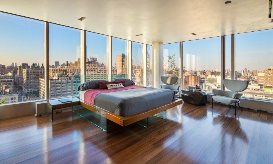 Oferece vistas deslumbrantes por toda a cidade, sendo possível ver a Estátua da Liberdade, o Empire State Building e Rio Hudson.
