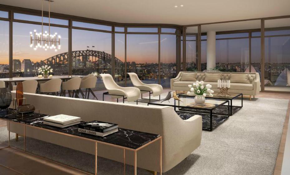 Opera Residence - Sydney, Austrália: Esta casa do século XIX tem à disposição vistas de 270 graus sobre o porto, incluindo a Harbour Bridge, o Jardim Botânico e a icónica Opera House.