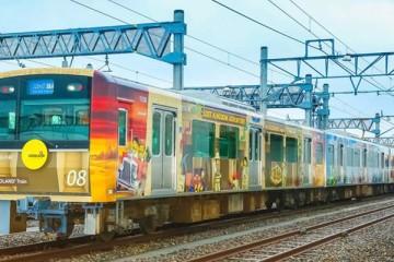Japão inaugura comboio temático da LEGO