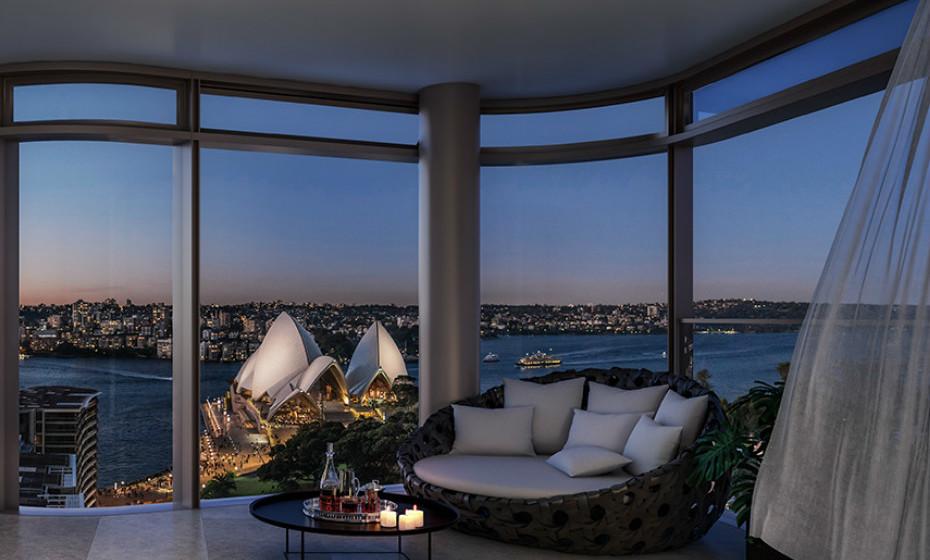 Tem 3 quartos, 4 casas de banho, e uma garagem tripla. É atualmente o apartamento australiano mais caro nunca vendido.