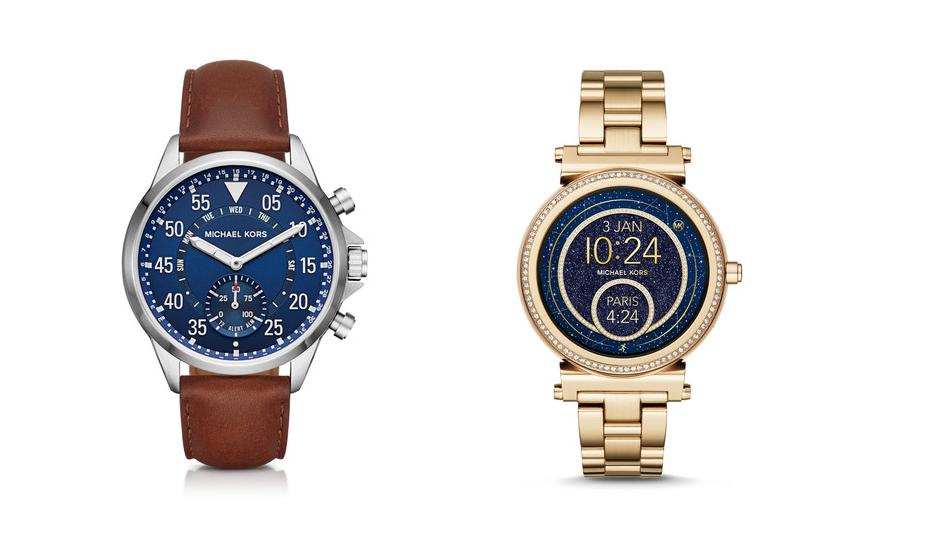 Michael Kors Access – O estilista alarga a sua gama de relógios inteligentes híbridos a novos estilos e cores.