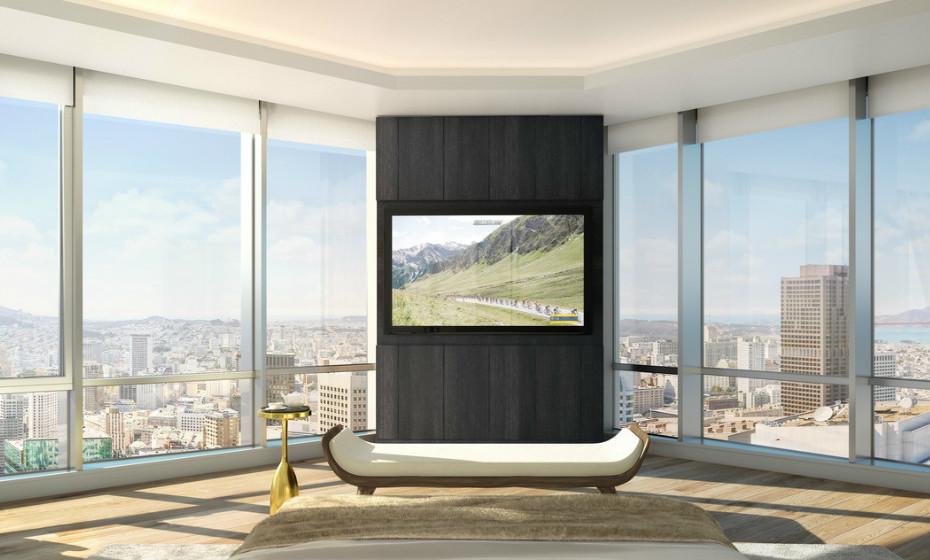 181 Fremont - São Francisco, EUA: Esta é a residência mais alta de São Francisco. A casa tem 5 quartos, 5 casas de banho, janelas do chão ao teto com vista em todas as direções, do nascer ao pôr-do-sol.
