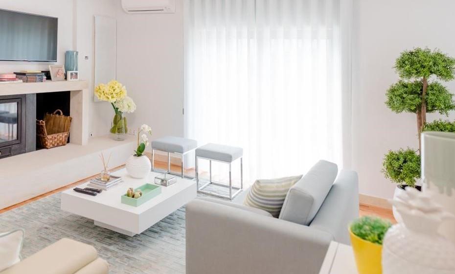 Coloque carpetes de pelo baixo e/ou opte por carpetes de fibras naturais.  (Fotos: Angela Pinheiro Home Design)