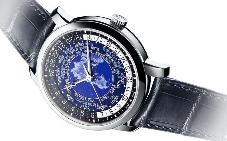 Edição de relógio Vacheron Constantin em platina limitada a dez unidades