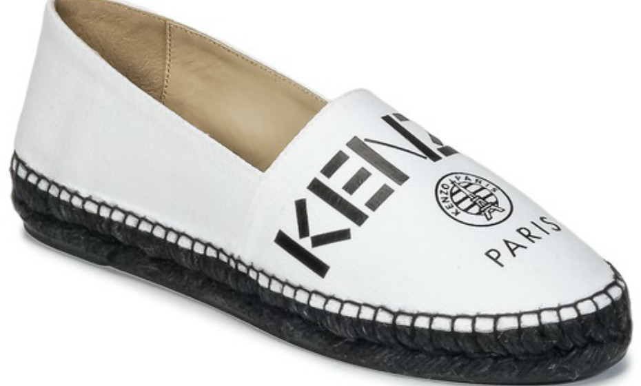 Alparcatas da Kenzo (149€) para looks mais neutros.