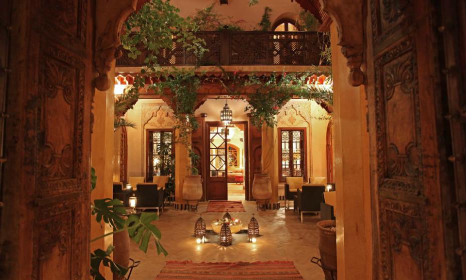 13. La Maison Arabe, Marrocos – Depois de um dia longo de turista, tudo o que vai querer é relaxar no maravilhoso spa deste hotel. Experimente também as massagens, não se vai arrepender!