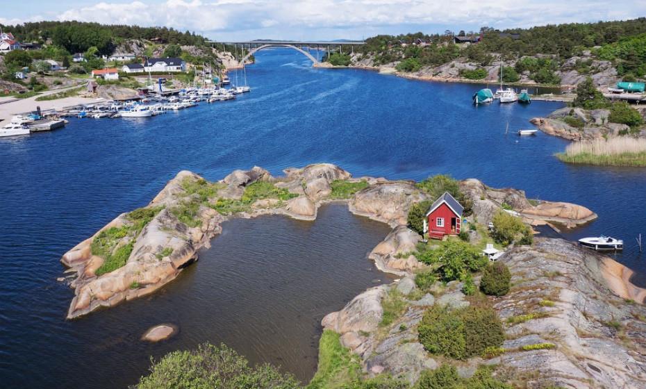 Vai a Østfold, Noruega? Fique numa pequena cabana, numa ilha privada no arquipélago de Hvaler.