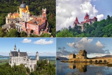 No Dia Internacional dos Monumentos e Sítios, assinalado a 18 de abril, mostramos-lhe 15 dos castelos e palácios mais bonitos da Europa. E um deles é português.