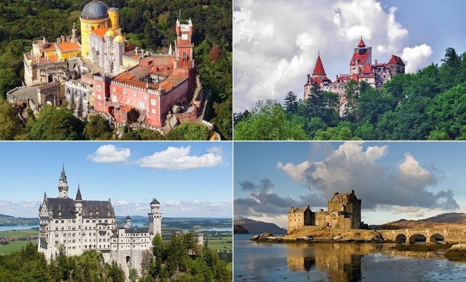 Em Dia de Reis, faça uma visita guiada por 15 dos castelos e palácios mais bonitos da Europa. E um deles é português.