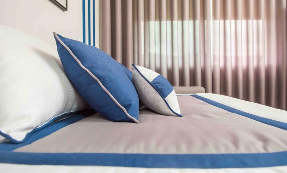 Combine as cores e sempre que possível opte por têxteis laváveis.