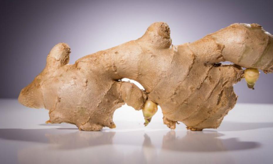 O gengibre é utilizado há centenas de anos para aliviar sintomas como, náusea, vómitos, enjoos, flatulência, perda de apetite e cólicas. Ainda assim, deve ser consumido com moderação.