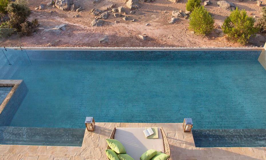 5. Anantara Al Jabal Al Akhdar Resort, Omã, Médio Oriente.