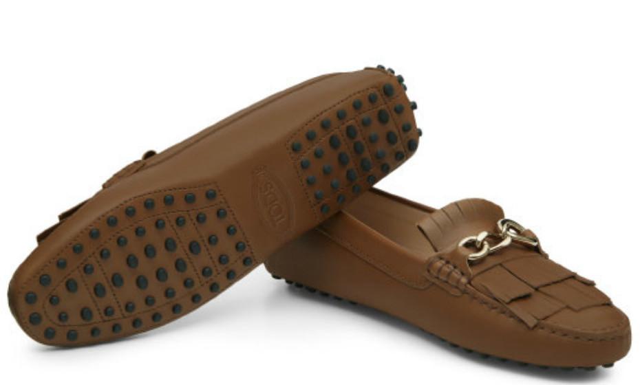 Assentam bem num look mais elegante. Sapatos da Tod's, 455€.