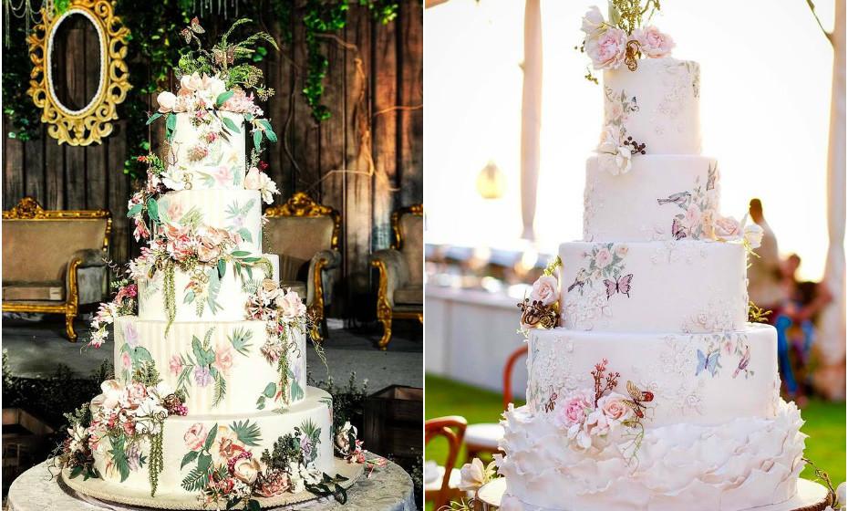Cada bolo ultrapassa os 4,7 mil euros. (Fotos: LeNovelle Cake)