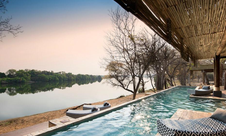 8. andBeyond Matetsi River Lodge, Zimbabwe, África.