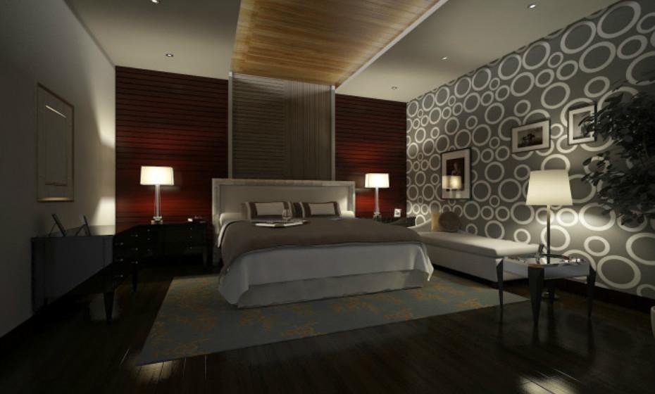 Exemplo de um quarto luxuoso. Este é da 'Vivos XPoint'.