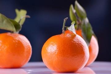 À mesa com…a tangerina