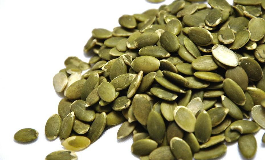 Algumas sementes, como abóbora ou sésamo, também fazem parte da lista.