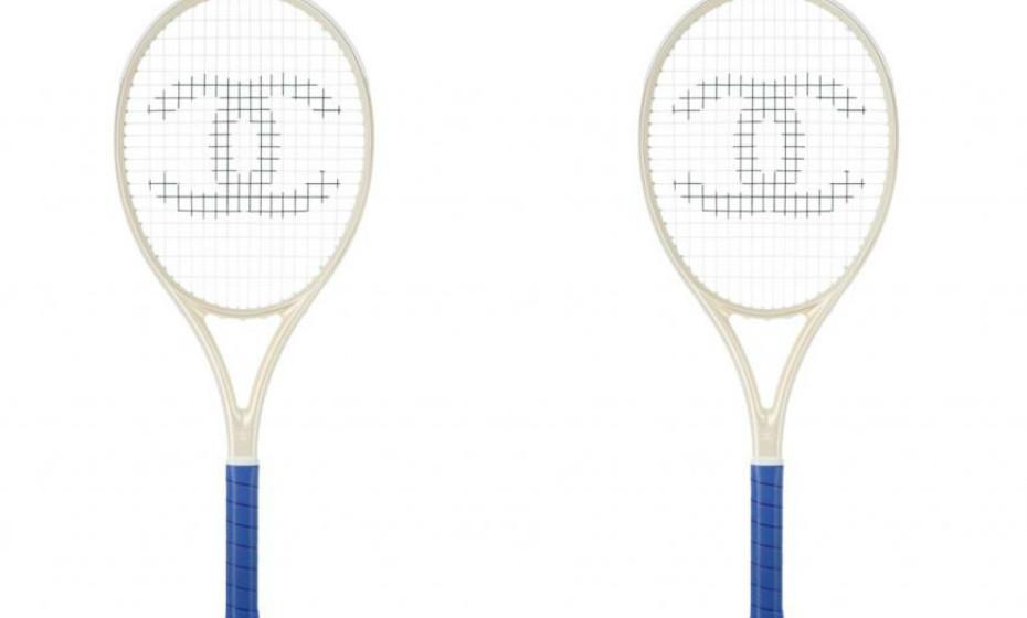 As raquetes.