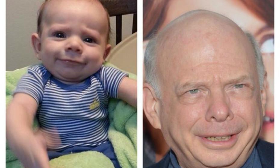 Este bebé apareceu no site 'Imgur' e é mesmo parecido com Wallace Shawn.